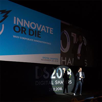 Keynote at RTL's Digital Shapers Conference, Zagreb November 29. 2018